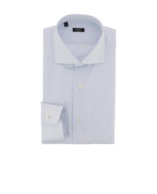 Kariertes Hemd aus Baumwolle BARBA