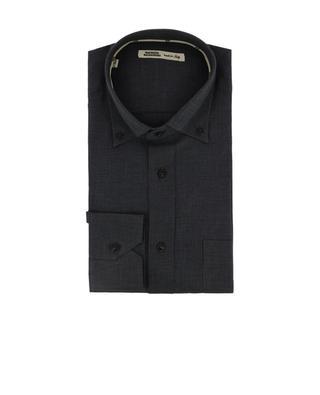 Hemd aus Baumwolle mit Muster MAURIZIO BALDASSARI