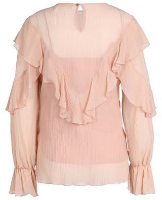 Ruffled crinkle effect veil blouse SEE BY CHLOE