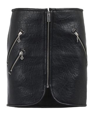 Leather mini skirt ISABEL MARANT