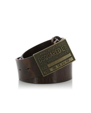 D2 metal buckle leather belt DSQUARED2