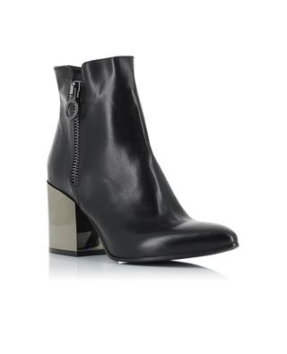 Bottines en cuir lisse FRU.IT