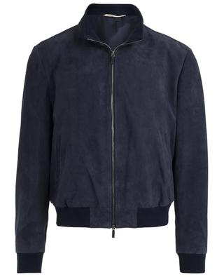 Suede jacket MAURIZZIO BALDASSARI