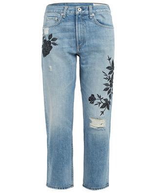 Bestickte gekürzte Jeans aus Baumwolle Marilyn RAG&BONE JEANS