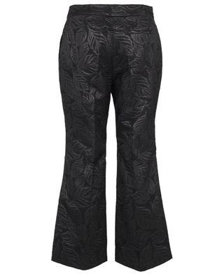 Pantalon raccourci en jacquard Oeil ESSENTIEL