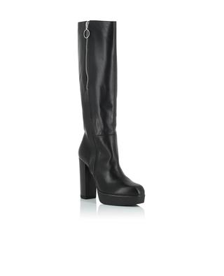 Avinton high smooth leather boots VIC MATIE