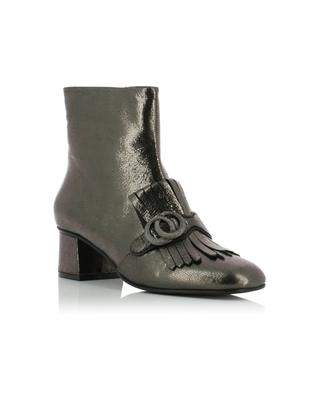 Metallic leather ankle boots BONGENIE GRIEDER