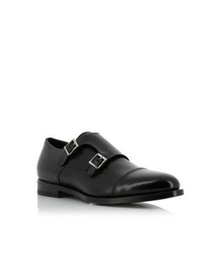 Monkstrap leather brogues SANTONI