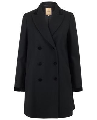 Mantel aus Wollgemisch FAY