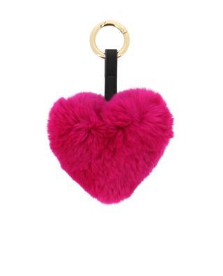 Fur key chain YVES SALOMON