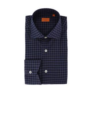 Heritage chequered cotton shirt BRULI