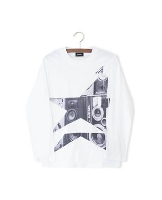 T-Shirt mit langen Ärmeln Tenfis DIESEL