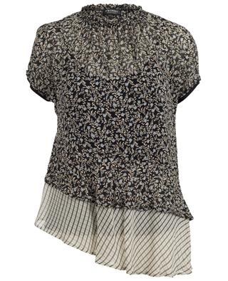 Top à manches courtes en viscose TWINSET