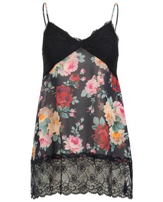 Roses printed lingerie top TWINSET