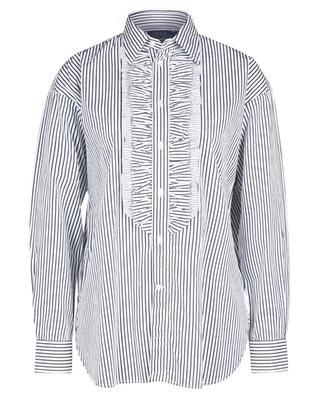 Ellen striped ruffled poplin shirt POLO RALPH LAUREN