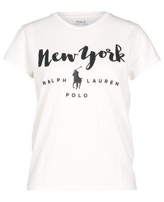 New York printed jersey T-shirt POLO RALPH LAUREN