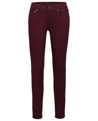 The Tompkins Skinny Sateen cotton chino trousers POLO RALPH LAUREN