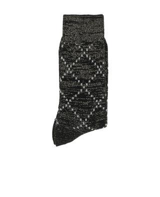 Chaussettes en coton et Lurex Donna ALTO