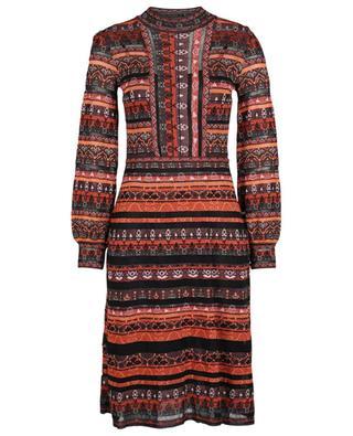 Long cotton-blend dress M MISSONI