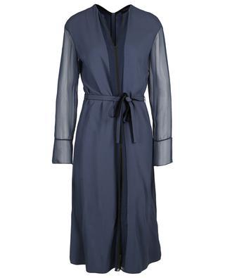 Crepe and silk midi dress PIAZZA SEMPIONE