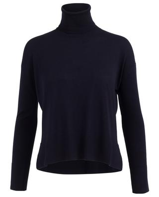 Viscose and cashmere turtle neck top PIAZZA SEMPIONE