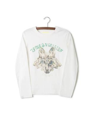 Long-sleeved cotton t-shirt ZADIG & VOLTAIRE