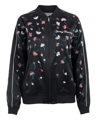 Embroidered silk bomber jacket OPENING CEREMONY