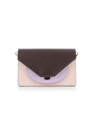 Doris leather clutch SALAR MILANO