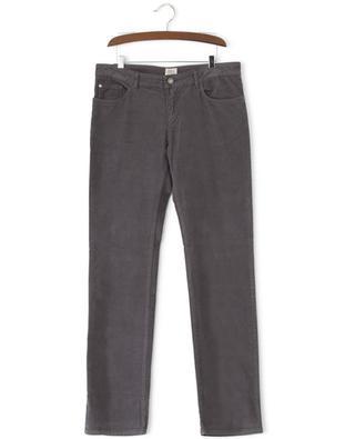 Pantalon droit en velours côtelé ARMANI