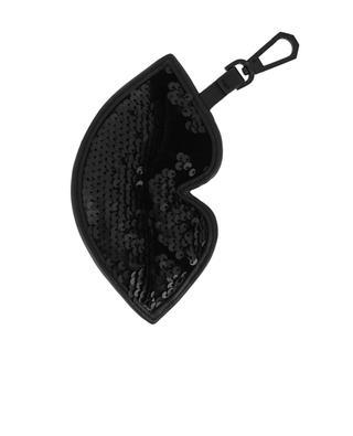 Handtaschenschmuck aus Samt Lush KENDALL & KYLIE