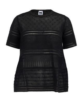 T-Shirt aus Baumwollmix M MISSONI