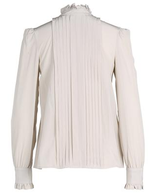 Silk blouse with pleated panel M MISSONI