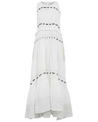 Pintuck maxi silk dress 3.1 PHILIPP LIM