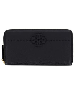 McGraw grained leather wallet TORY BURCH