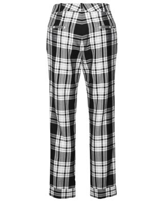 Flynn tartan check tapered leg trousers PREEN