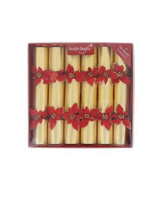 Set de 6 crackers de Noël ROBIN REED