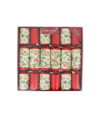 Set of 6 christmas crackers ROBIN REED