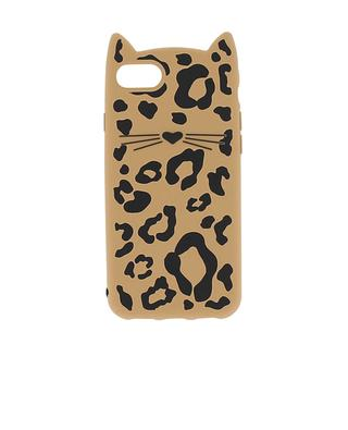 Cover für iPhone 7 Cheetah Cat KATE SPADE