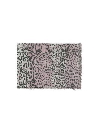 Foulard en cachemire à imprimé léopard HEMISPHERE