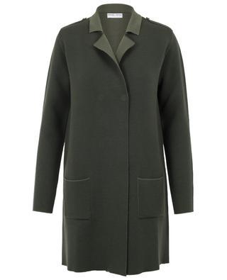 Manteau tricot en laine BONGENIE GRIEDER