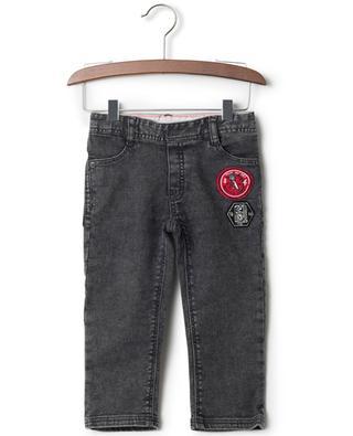 Ausgewaschene Jeans aus Baumwollmix LITTLE MARC JACOBS
