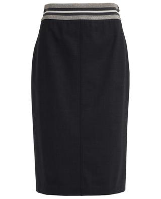 Wool blend pencil skirt BRUNELLO CUCINELLI