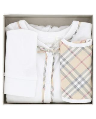 Three piece gift set for girls BURBERRY