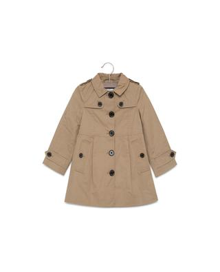 Cotton trench coat BURBERRY