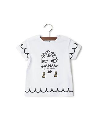 Printed cotton t-shirt BURBERRY