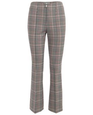 Pantalon à carreaux en laine mélangée SONIA RYKIEL