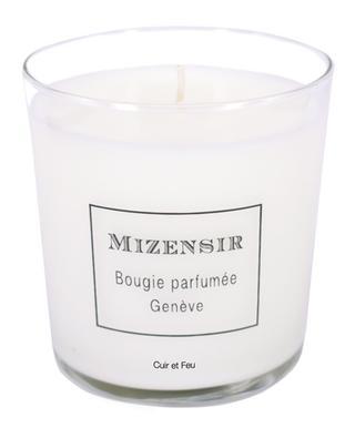Bougie parfumée Cuir et Feu - 230 g MIZENSIR