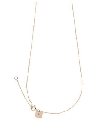 Baby Lace Monogram necklace GINETTE NY
