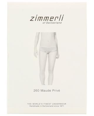 260 Maude Privé cotton and lace briefs ZIMMERLI