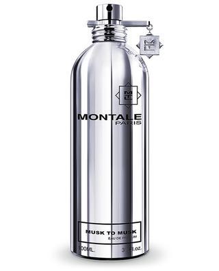 Musk to Musk eau de perfume MONTALE
